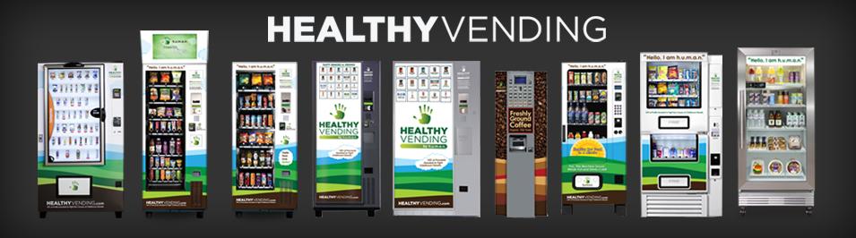 Healthy Vending Machines Franchise - HUMAN's vending machine catalog
