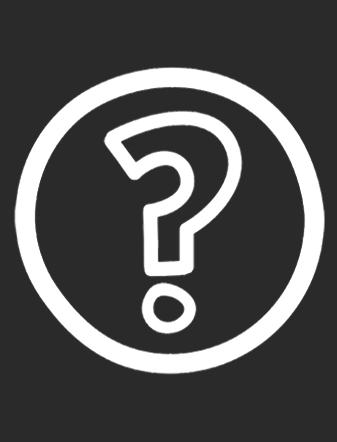 Questionmark-White